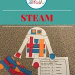 Let's Make a Robot ~ STEAM Activity