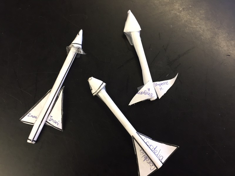 STEM Paper Rocket and Engineering Challenge