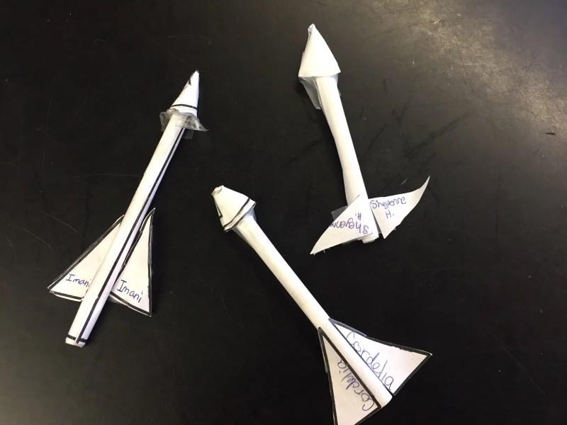 STEM Paper Rocket