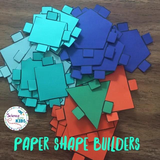 STEM paper shape builders