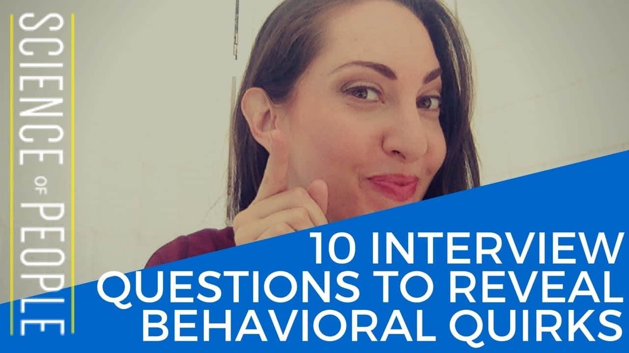 behavioral questions interview