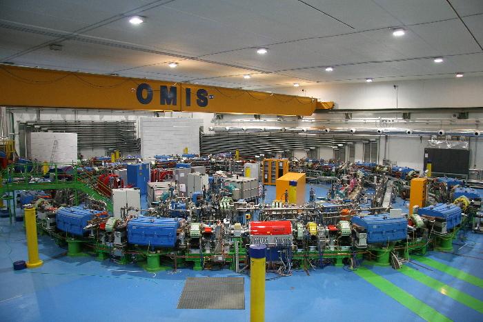 Il sincrotrone del CNAO (immagine del CNAO)