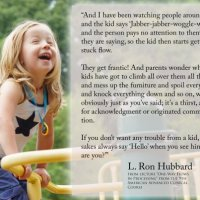 Quote of the Day:  The Importance of Acknowledgements for Children