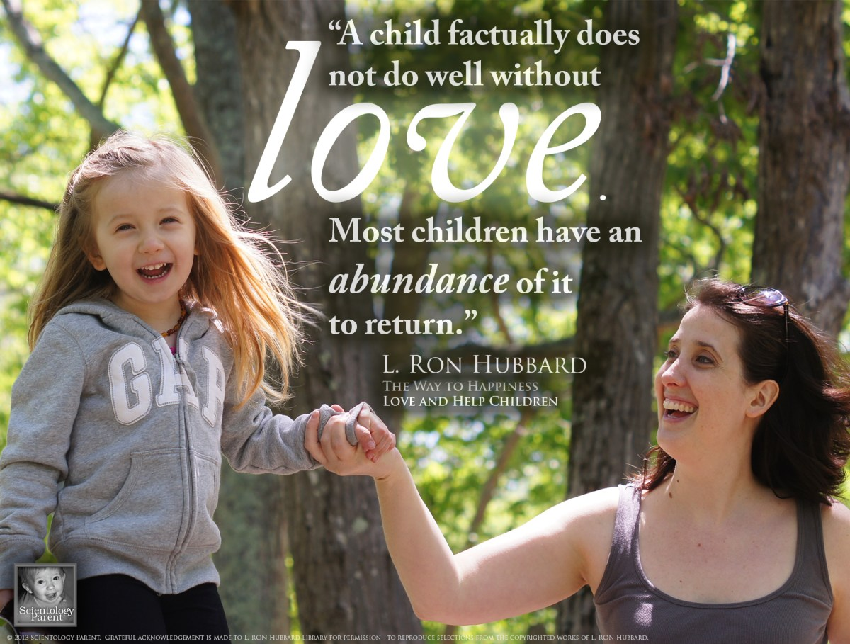 Children Have an Abundance of Love