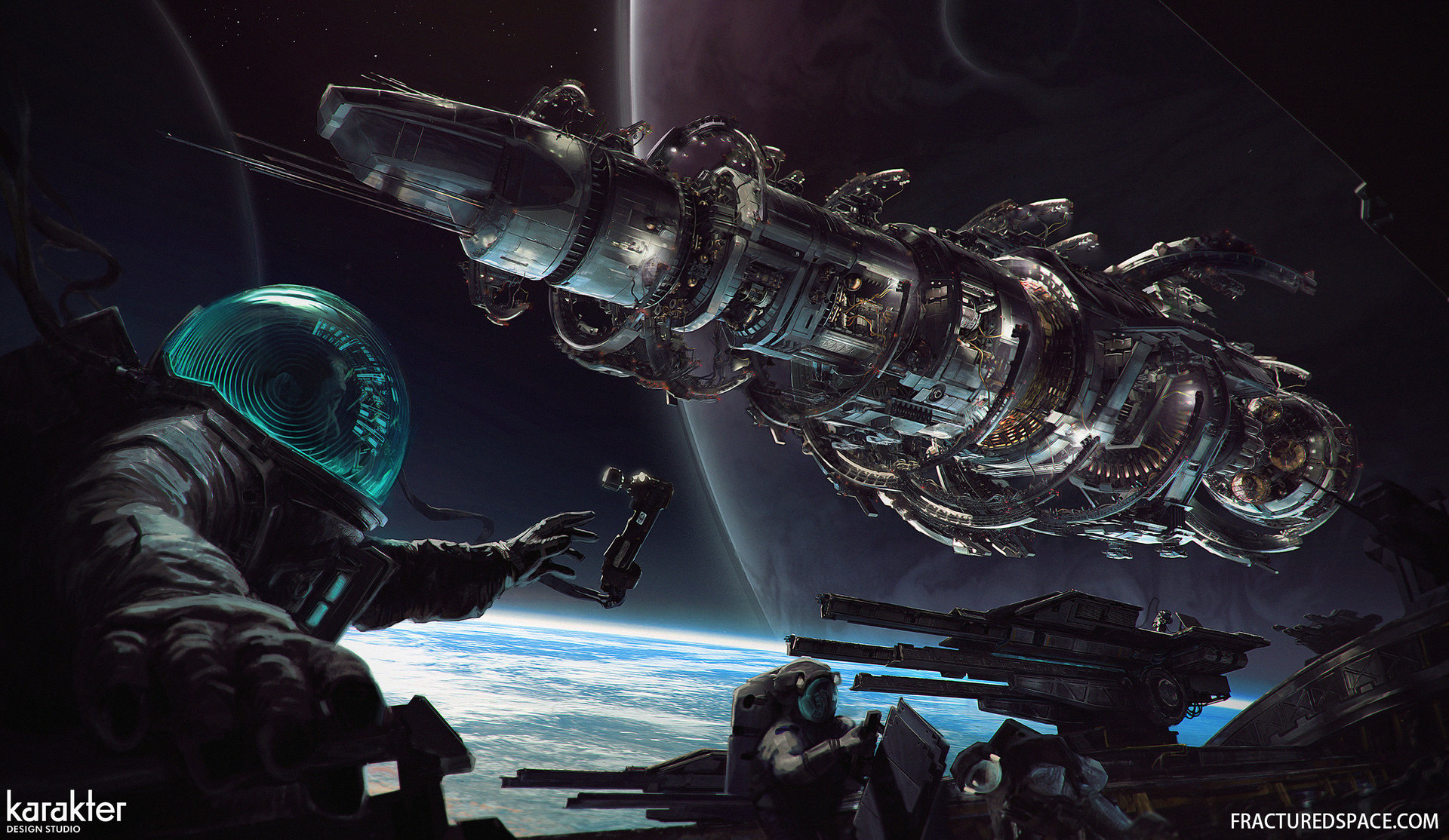 3d Asteroid Wallpaper The Futuristic Concept Art Of Mike Hill Digital Sci Fi