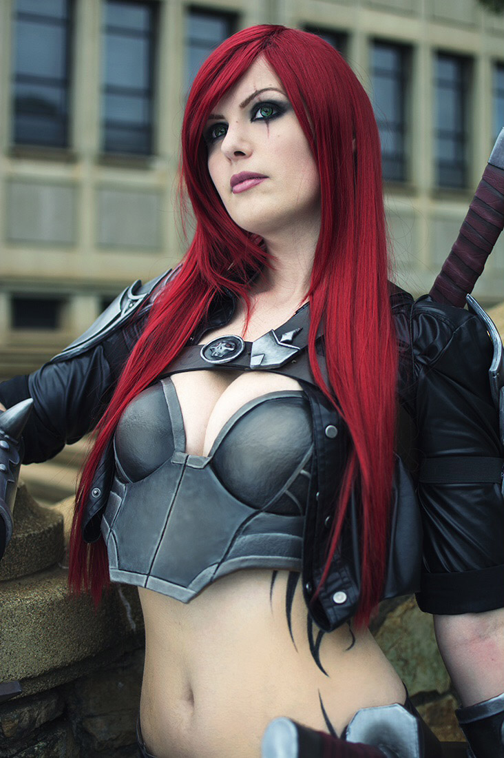 Ninja Warrior Wallpaper 3d Superb Katarina League Of Legends Cosplay Kinpatsu Cosplay