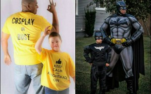Batman supports Down Syndrome
