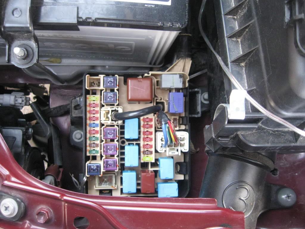 2007 scion tc fuse box