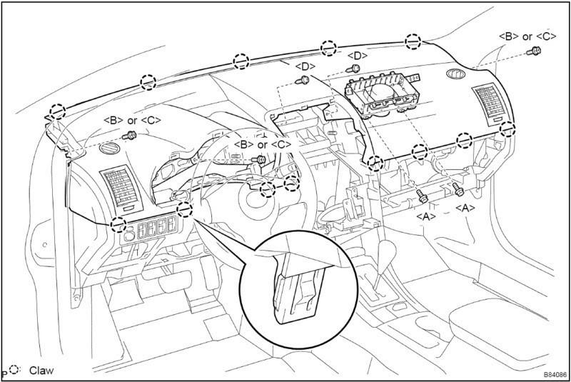 Dash Removal (Diagram Inside) - Scionlife