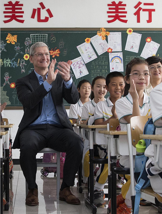 Apple CEO Tim Cook\u0027s social media debut in China embraced by