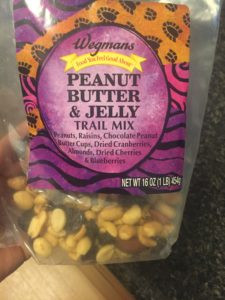 To be fair, this trail mix is kind of candy...