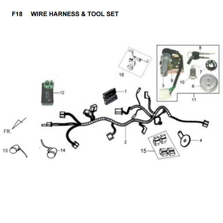 aviation wire harness