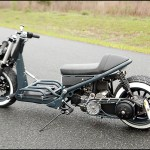 Cafe Risque Custom Honda Ruckus