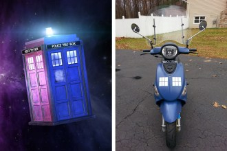Tardis Scooter