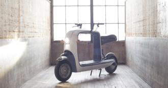 Lit Motors Kobo Cargo Scooter