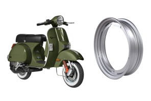 Prima Tubeless Rims for Vespa / Stella