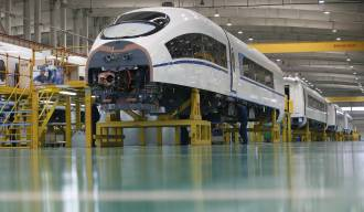 Chinese High Speed Rail Train