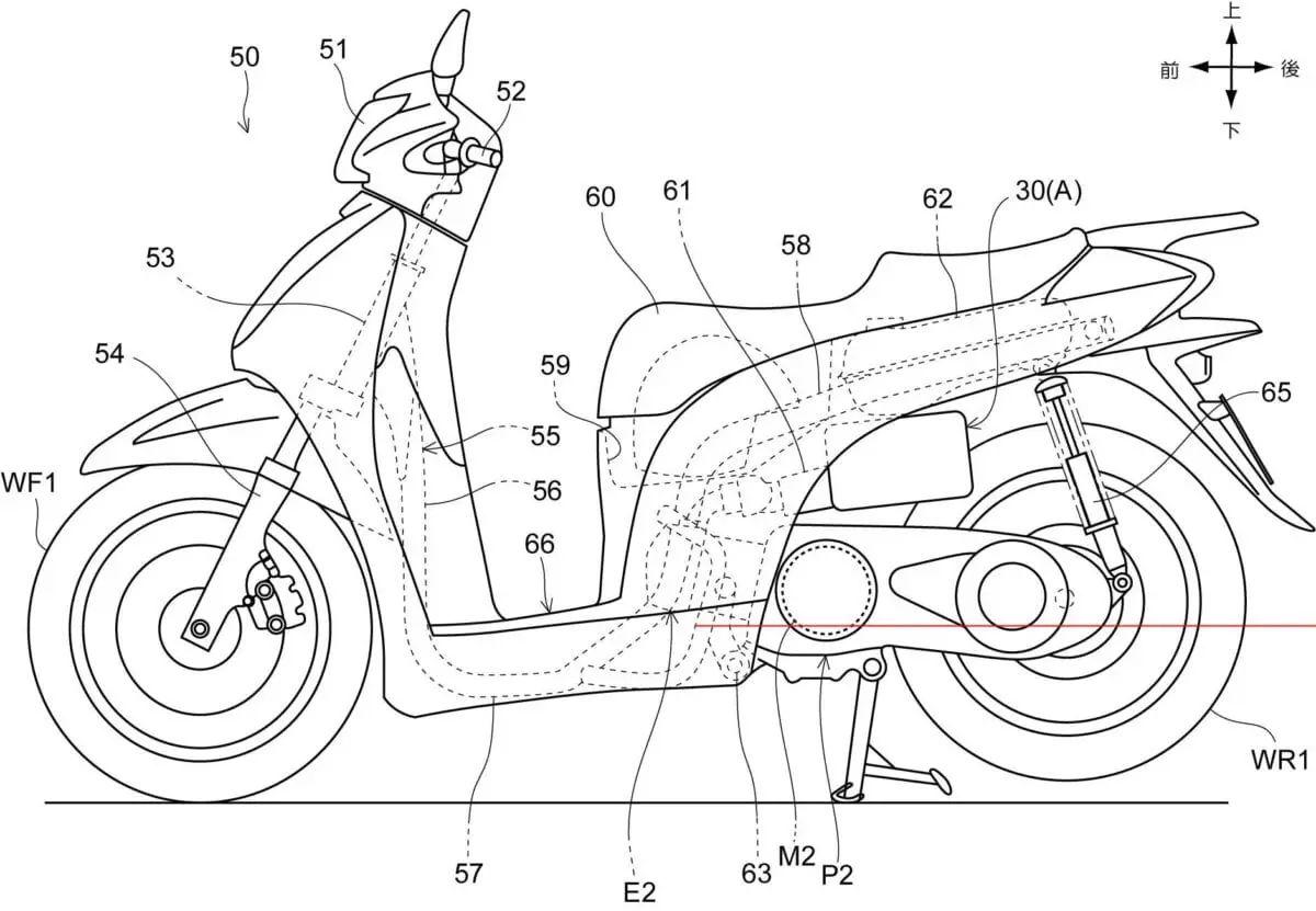 honda si Motor diagram