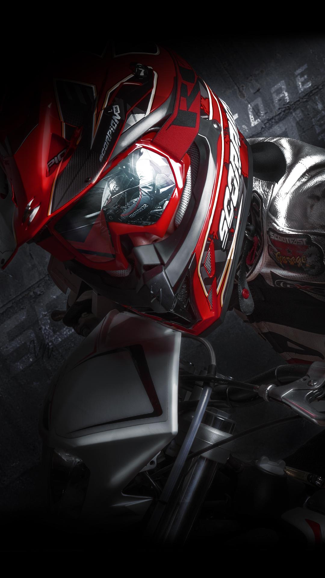 Os X Wallpapers Hd Scootfast Garage Fond D Ecran Scorpion Style By Sf