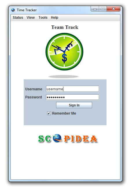 Employee Time Tracking Software, Time Recording Software Scopidea