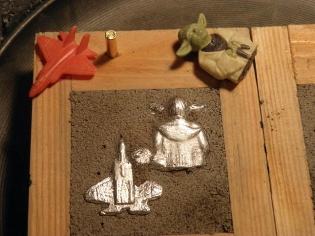 Yoda in Sand