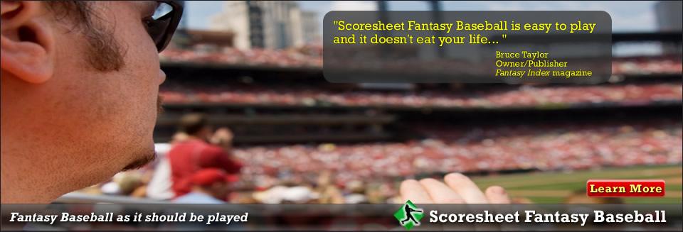 Scoresheet Fantasy Sports Fantasy Baseball, Football and Hockey - hockey score sheet