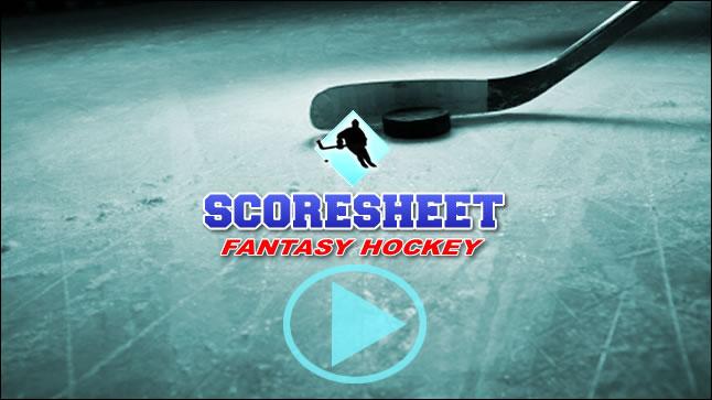 Scoresheet Fantasy Hockey Overview - hockey score sheet