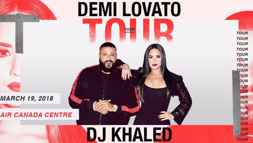 Demi Lovato  DJ Khaled Scotiabank Arena