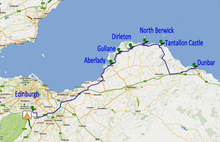 A Journey Around Scotland From Tantallon Castle To Dunbar