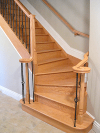 Ottawa Stair Flooring Hardwood - Winder Stairs - Scott ...