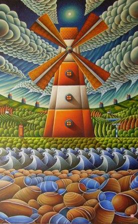 Surrealism scottish art and paintings by scottish artists red rag