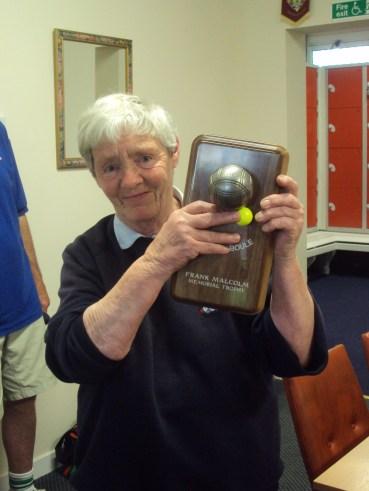 Eileen Moonie - Frank Malcolm Memorial Winner 2013