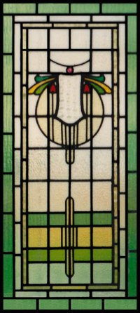 Family Crest Stained Glass Windows & Panels