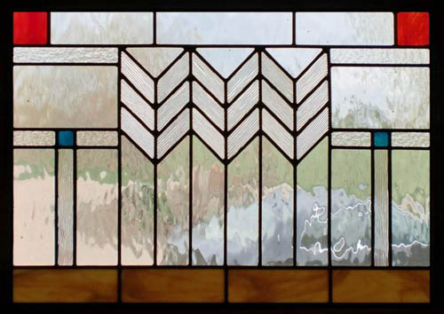Mission Style Stained Glass