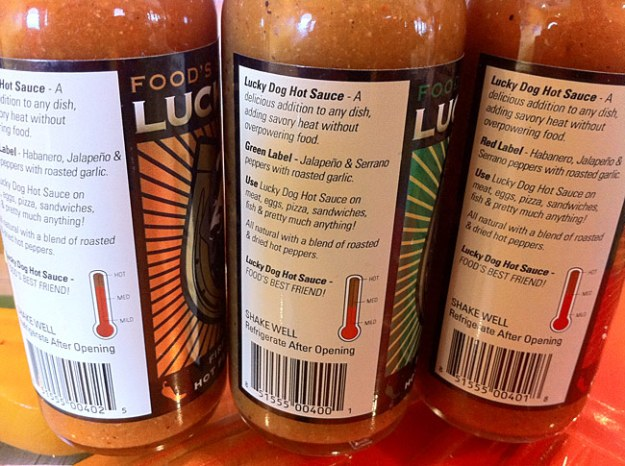 Lucky Dog Fire-Roasted Hot Sauce