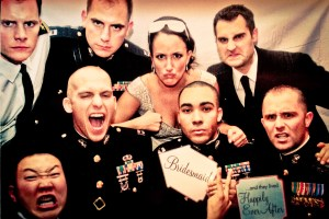 12th Place - Michelle & Her Military Men