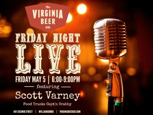 Scott Varney at Virginia Beer Company @ Virginia Beer Company | Williamsburg | Virginia | United States