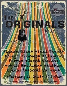 The Originals Songwriter Showcase @ the Triangle | Williamsburg | Virginia | United States