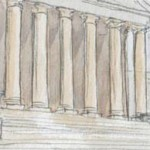 """A """"view"""" from the courtroom: A nod to a late president and a retired justice"""