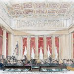 """A """"view"""" from the courtroom: An audience of luminaries for the final argument of the term"""
