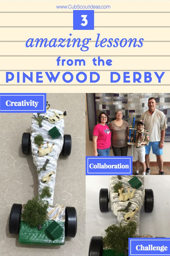 This Mom Wasn\u0027t Sure About Her Son\u0027s Pinewood Derby Car Design But