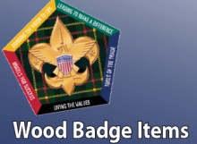Woodbadge items