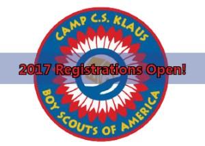 2017 camp registrations