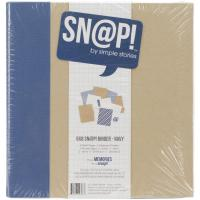 "Simple Stories - Sn@p!: 6x8"" Binder (Album) - Navy / Blau ..."