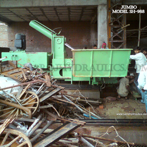 hydraulic steel bundling machine