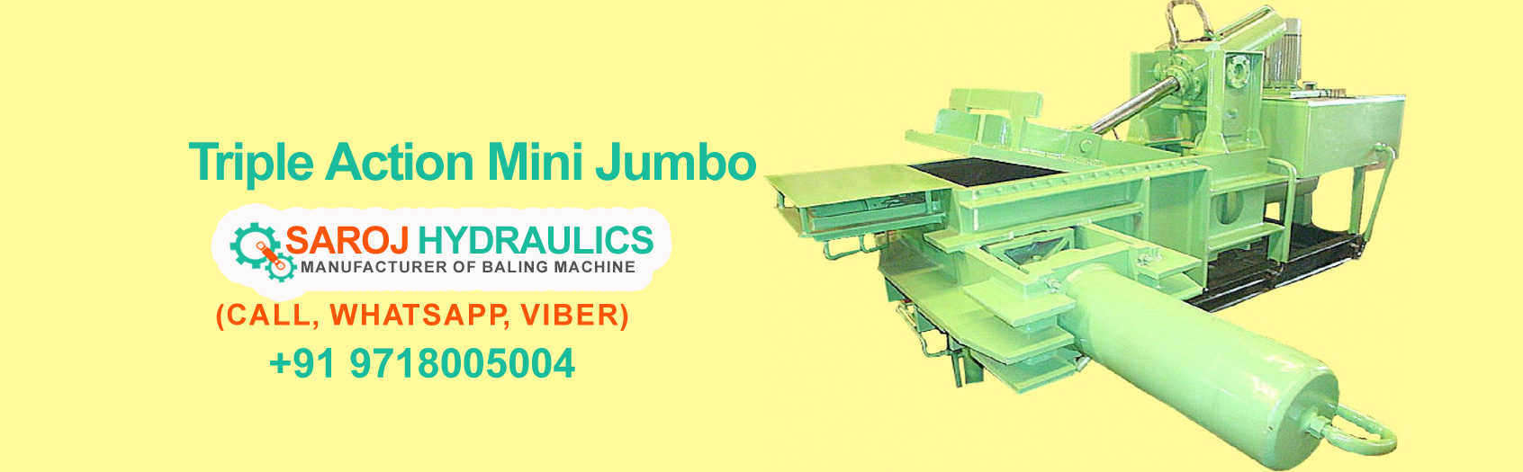 paper baling pressing machine