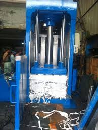 woven sack baling press machine
