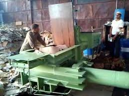 waste paper bale press machine