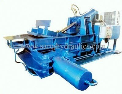 automatic hydraulic paper bale press machine