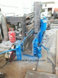 cheap scrap baling press